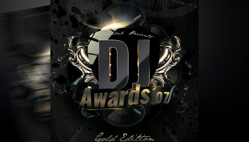 DJ Awards Flyer