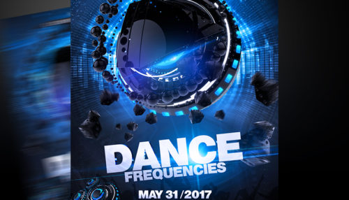 Dance Frequencies Flyer