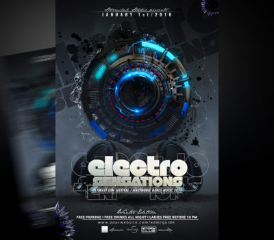 Electro House Flyer 2