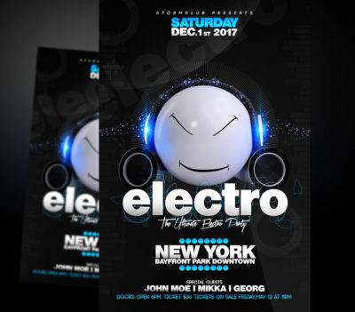 Electro House Flyer 3