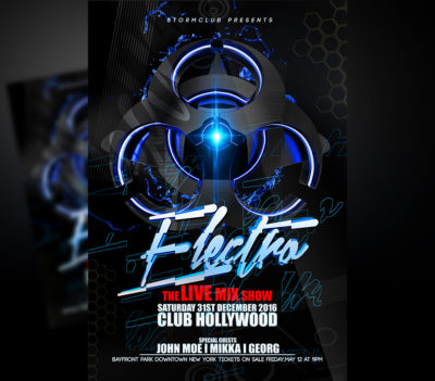 Electro House Flyer Template (Experience)