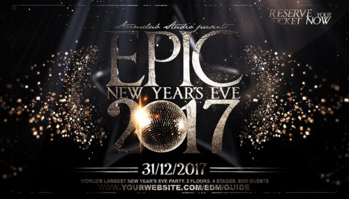 Epic NYE Flyer