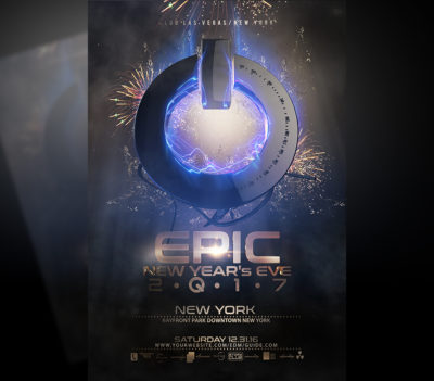 Epic New Year Flyer Template V3