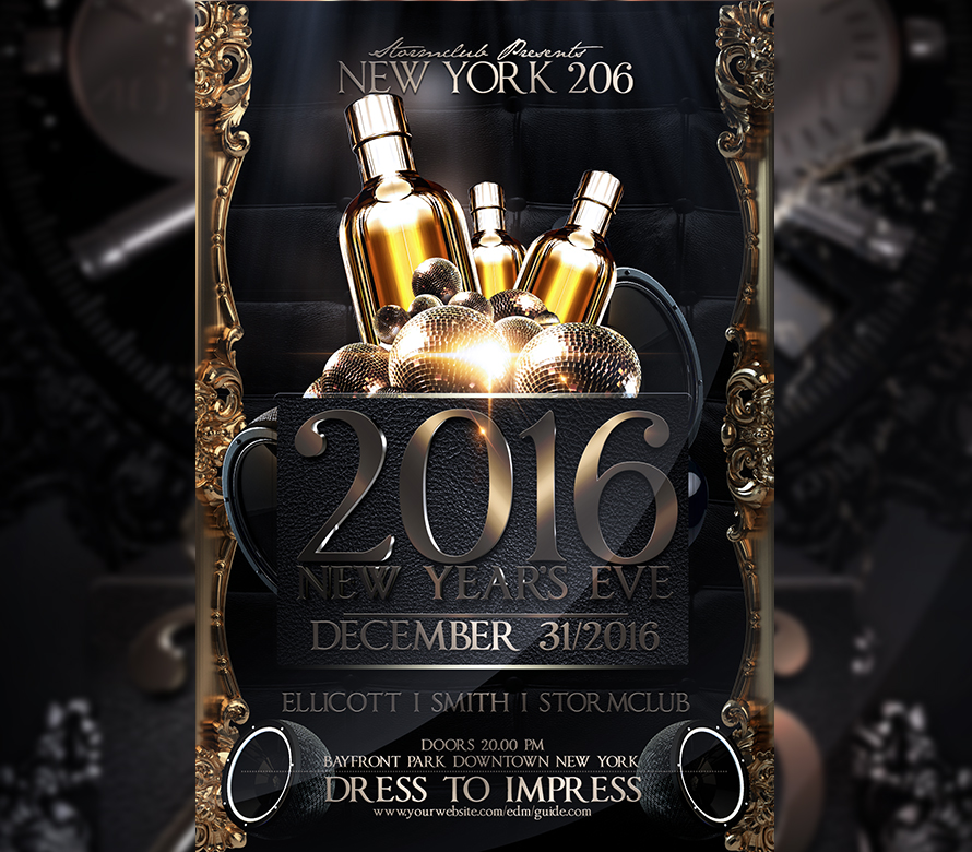 happy new year flyer template v2_2