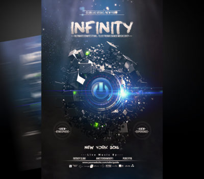 Infinity Flyer Template