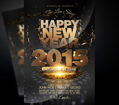 NYE Club Party Flyer