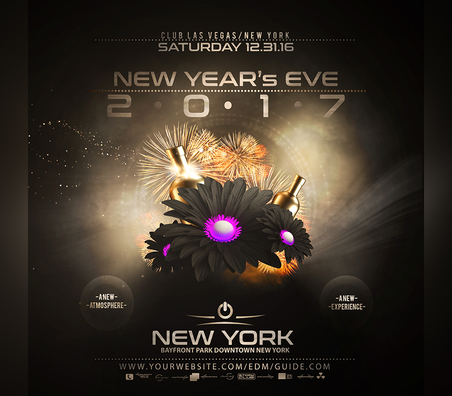 nye flyer template v2 onepartyflyer