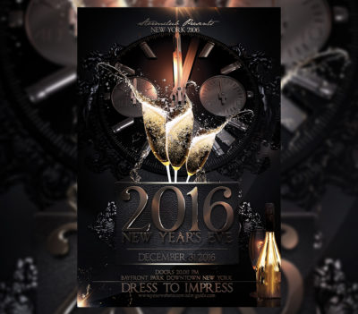 NYE New Year Flyer