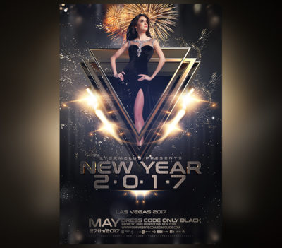 NYE New Years Eve Flyer V3