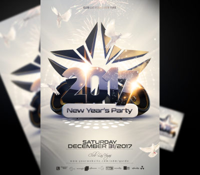 NYE Party Flyer Template V2