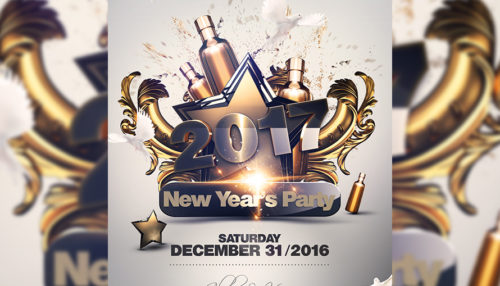 NYE Party Flyer Template V3