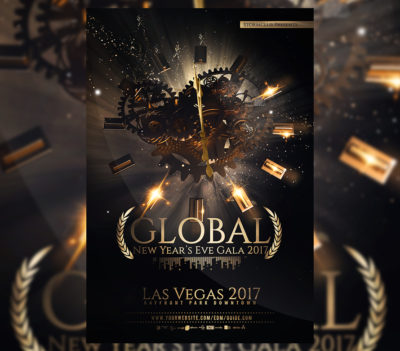 NYE Party Flyer Template V4