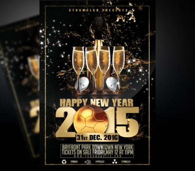 New Year Bash Flyer v1