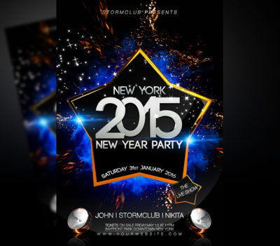 New Year Celebration Event Template v3