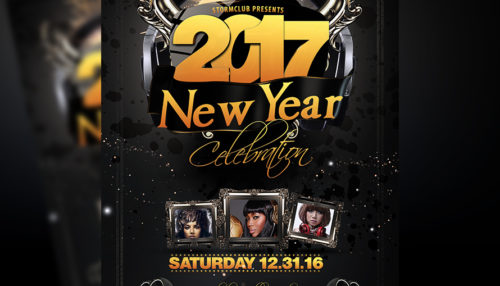 New Year Party Flyer Template v1