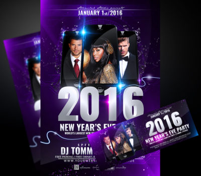 New Years Eve Bash Flyer V1