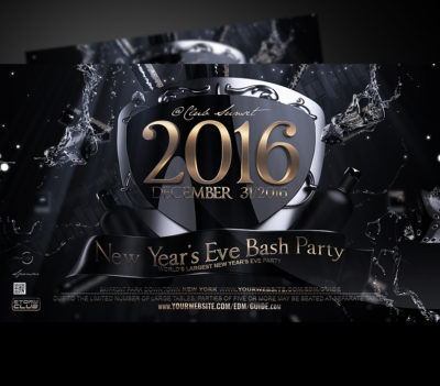 New Years Eve Flyer Template V1