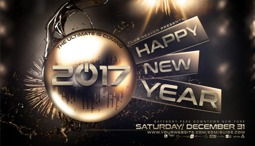 New Years Eve Flyer Template V4
