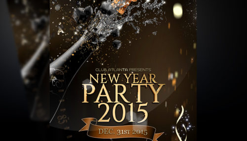 New Years Eve Flyer Template v3