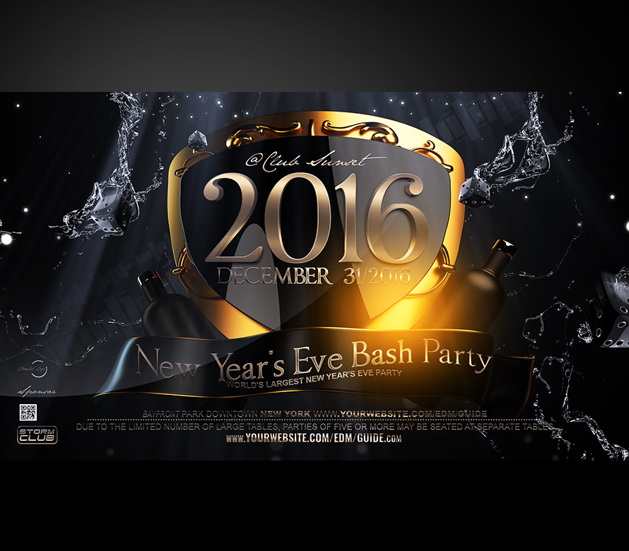 New Years Eve Flyer Template V4 2