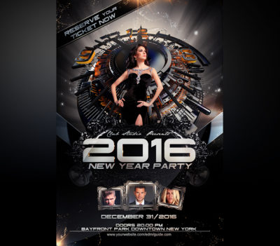 New Years Eve Party Flyer Template V1