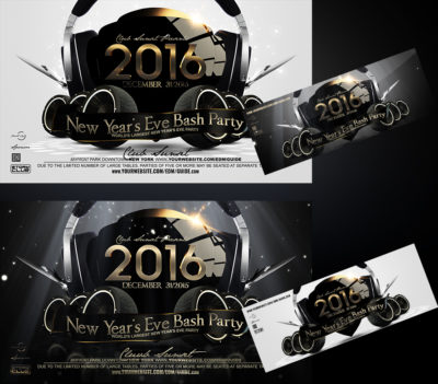 New Years Eve Party Flyer v1