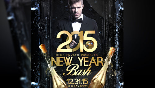New Years Eve Party Flyer v2