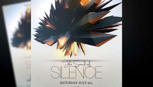 The Sound of Silence Flyer