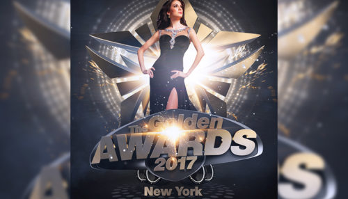The Golden Awards Flyer Template
