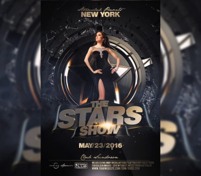The Stars Flyer Template