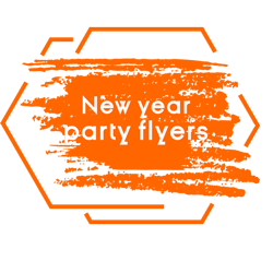 new years flyers