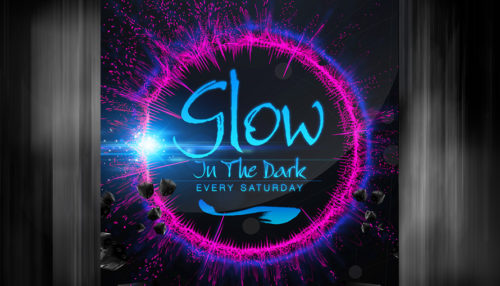 Electro House Glow Club Party Flyer