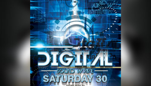 Digital Sound Flyer Template
