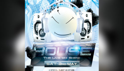 Dj Electro House Promote Flyer