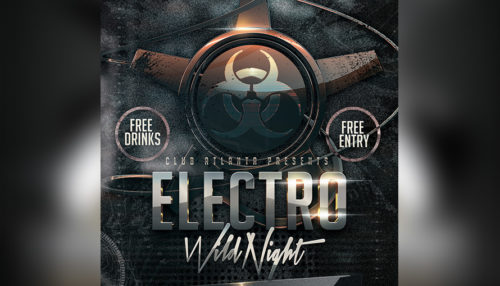 Electro House DJ Event